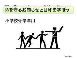 津波に関する目印(標識)③