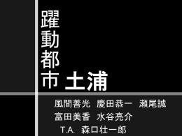 土浦 - 都市計画DocumentSV