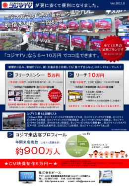 コジマ TV - 動画広告ならビック TV
