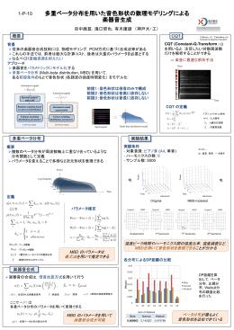 多重ベータ分布を用いた音色形状の数理モデリングによる 楽器音生成