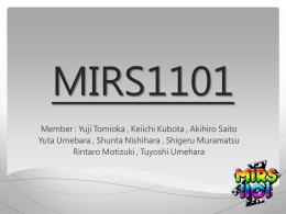 MIRS1101