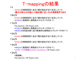 T-mappingの結果