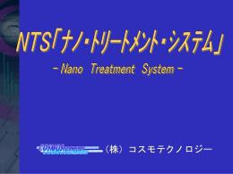 NTSプレゼンテーション