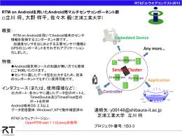 RTMContestCatalog2013_1B3-3 - OpenRTM-aist