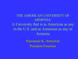 H. Armenian - LA - AUA 20TH OFFICIAL SPEECH