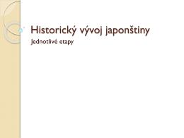 Archaická japonština