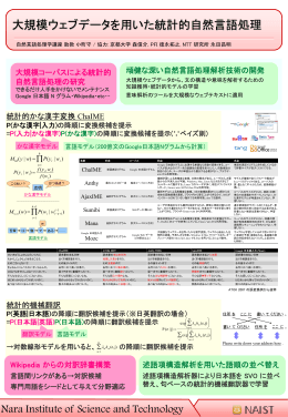 P(かな漢字)の降順に変換候補を提示 - 首都大学東京 自然言語処理