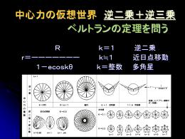 逆二乗+逆三乗と ベルトランの定理