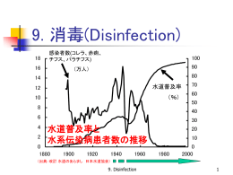 9. Disinfection