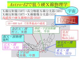HXD-IIのサイエンス