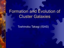 Evolution of Cluster Galaxies