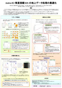 poster - 大阪大学X線天文グループ