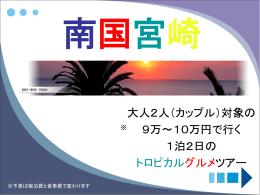 課題資料「夏休み 学生旅行 in 宮崎」