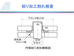 絞り加工割れ検査 - ae-application.com