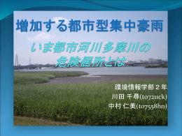 多摩川の河川敷利用(仮)