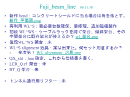 Fuji_beam_line 06.11.30