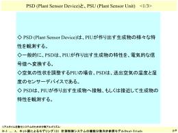Plant Actuator Unit