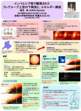 PPT file - 京都大学大学院理学研究科附属天文台