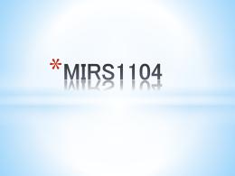 MIRS1104