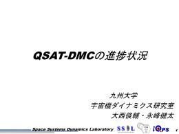 永峰 健太 「QSAT-DMCの開発状況」