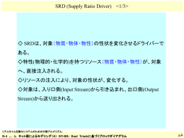 SRD: Supply Ratio Driver