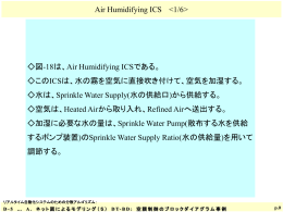 Air Humidifying ICS