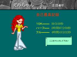 荒木永美子 44歳 走歴0年