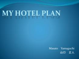 My Hotel PLAN