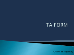 `TA` form? - Japanese Teaching Ideas