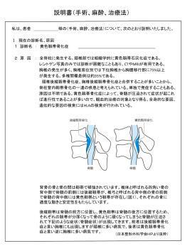 胸椎OYL