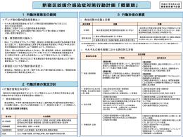 【概要版】新宿区蚊媒介感染症対策行動計画 [PDF形式:121KB] (新規