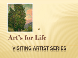 Visiting Artists - janesvilledigistory