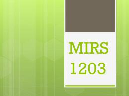 MIRS1203