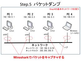 Step.5 パケットダンプ (540kByte)