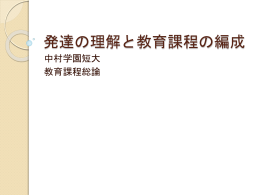 PowerPoint - 中村学園短期大学-2011B