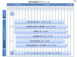 FH27R-231 仕様書別紙2_案内状発送スケジュール93kバイト