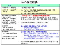 g-2/EDM実験の紹介