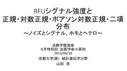 RFU - 京都大学