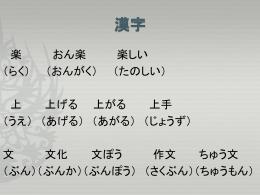 漢字 - hellolanguage