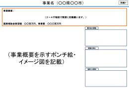 別紙1 事業概要図(パワーポイント)