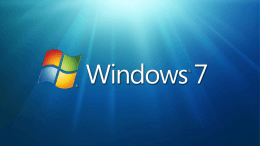 Windows 7 Quick Review - Center