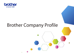 Brother Company Profile