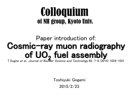 Colloquium at NH group of Kyoto Univ.