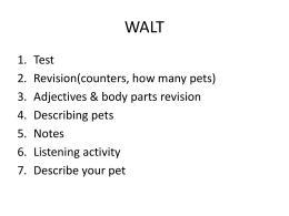 WALT - hellolanguage