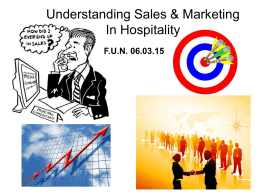 Sales and Marketing 講座