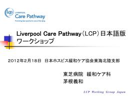 LCPの概要と使用方法(茅根義和) - LCP日本語版