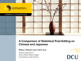 Linguistic Comparison and Analysis of Statistical Post