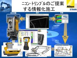 GCS900 Grade Control System 日本国内の導入事例