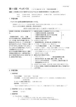 看護技術演習Ⅱ