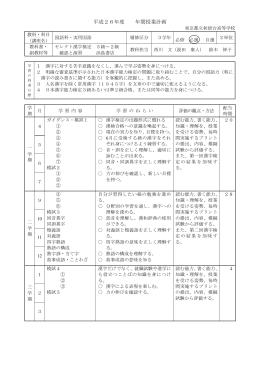 実用国語 - 東京都立秋留台高等学校